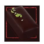 Praline chocolat massepain pistache