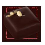 Praline chocolat noisettes